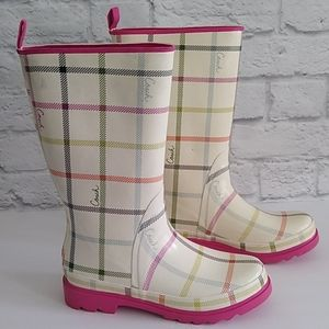Coach Rubber Rain Boot Wellies